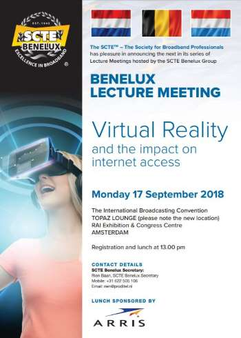 benelux lecture 2018 flyer