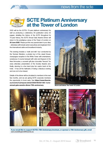 p15 - SCTE Platinum Anniversary at the Tower of London