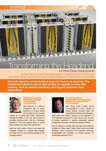 p46 - Transforming the Headend for Fibre Deep Deployments