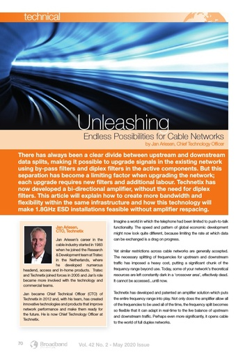 Unleashing Endless Possibilities for Cable Networks
