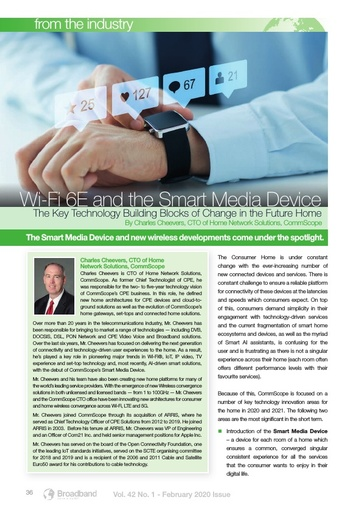Wi-Fi 6E and the Smart Media Device