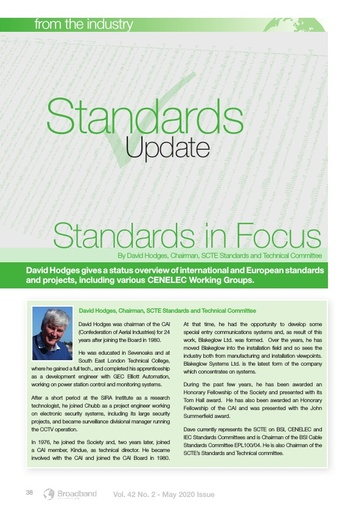 Standards Update