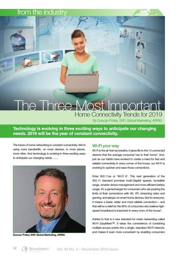 p32 - The three most important home connectivity trends for 2019 - Arris