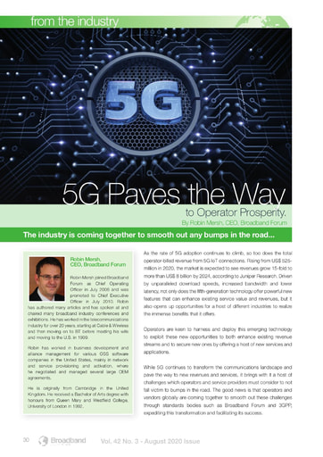 5G Paves the Way