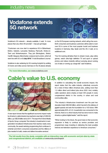 p22 - Cable's value to US economy