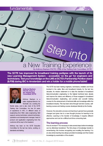 p46 - Step into a New Training Experience