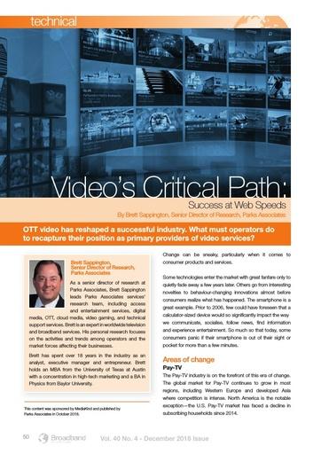 p50 - Video's critical path: Success at web speeds