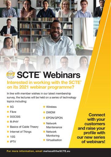 SCTE Webinars Brochure