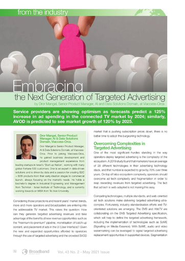 Embracing the Next Generation of Targeted Advertising - By Viaccess Orca