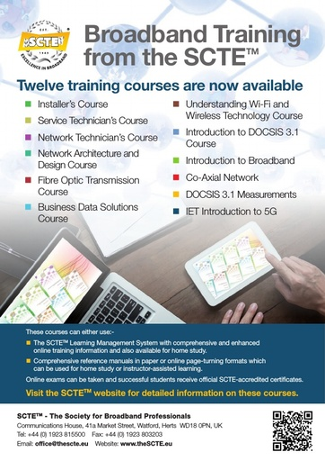 SCTE Training Courses