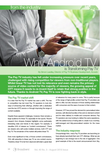 p24 Why Android TV is transforming Pay TV