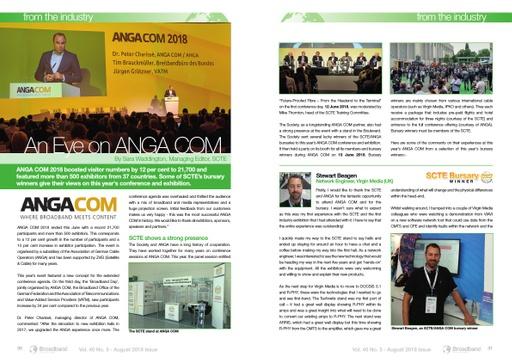 ANGA COM 2018 bursary winner article.