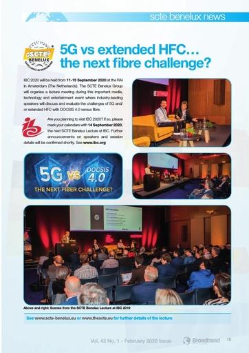 5G vs extended HFC