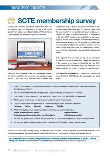 p12 - Broadband 2019 Membership Survey