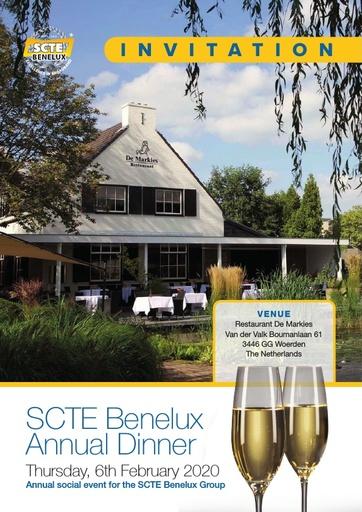 2020 SCTE Benelux Dinner Invitation